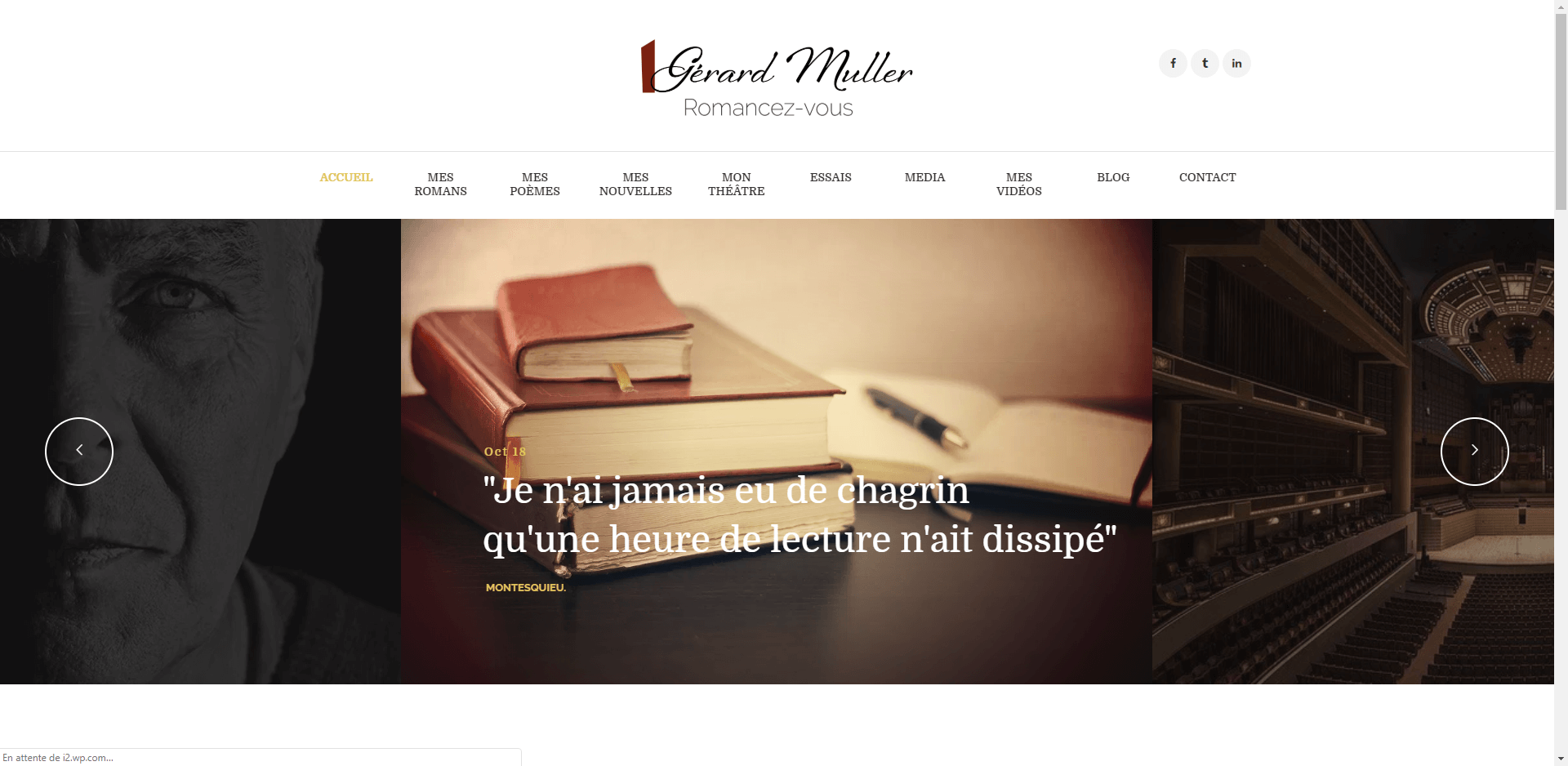 Gerardmuller-website