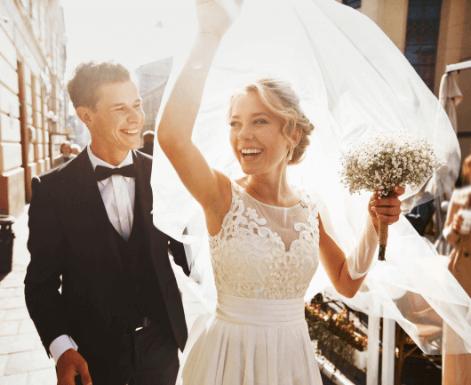 wedding-girl-and-boy-happy